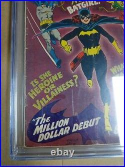Detective Comics #359 CGC GD+ 2.5 Off White 1st Batgirl