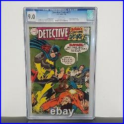 Detective Comics #371 CGC 9.0 White Pages (1968, DC Comics) Batman Batgirl