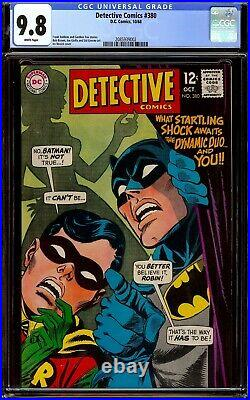 Detective Comics #380. CGC 9.8 NM/M White pages. Highest graded