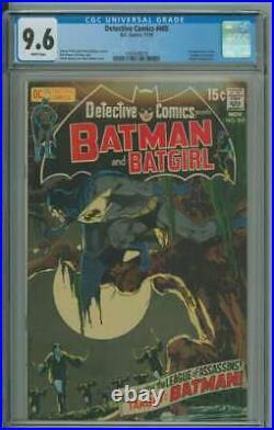 Detective Comics #405 Cgc 9.6 White Pages