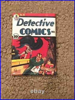Detective Comics 45 CGC 4.5 OWithWhite (3rd App Joker, 1st in title-1940!) +magnet