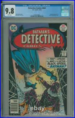 Detective Comics #464 Cgc 9.8 White Pages