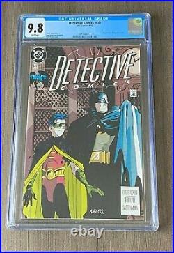 Detective Comics #647 CGC 9.8 White Pages Batman 1st App. Of Stephanie Brown