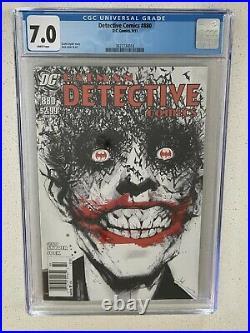 Detective Comics #880 CGC 7.0 White Pages