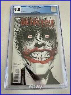 Detective Comics #880 CGC 9.8 White Pages