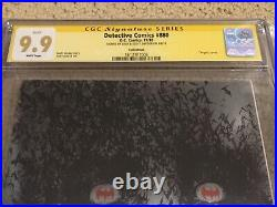 Detective Comics 880 CGC 9.9 White SS Jock & Snyder (Classic Joker Cover)+magnet