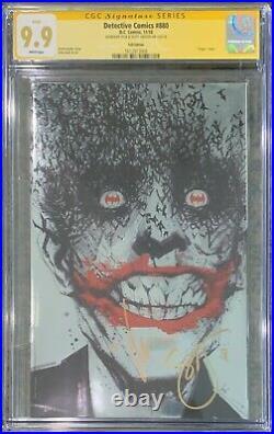 Detective Comics 880 Foil CGC 9.9 White SS Jock & Snyder (Classic Joker Cover)
