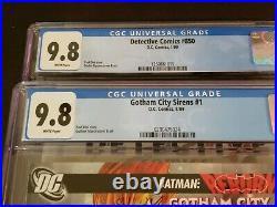 Gotham City Sirens #1 / Detective Comics #850 CGC 9.8 WHITE 2009 DC
