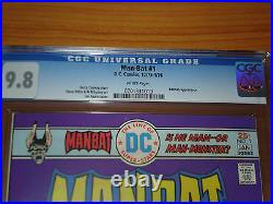 MAN-BAT #1 CGC 9.8 NM/MT (Bronze Age DC / Batman Key White Pages)