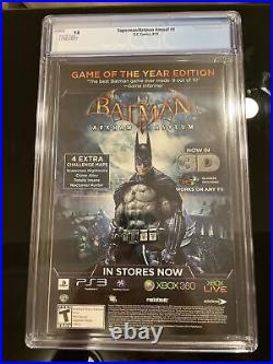 SUPERMAN BATMAN ANNUAL #4 CGC 9.8 1ST Appearance Batman Beyond White Pages