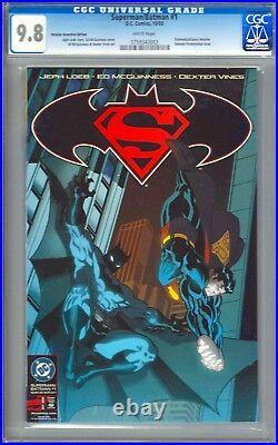 Superman / Batman 1C CGC 9.8 NM/MT with White Pages (Justice League, JLA)