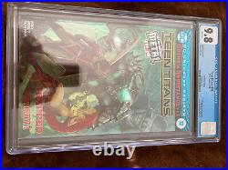 Teen Titans #12 CGC 9.8 White Pages Foil Cover Convention Edition