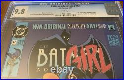 The Batman Adventures #12 CGC 9.8 white pages key book 1st Harley Quinn