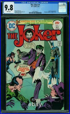 The Joker #1 CGC 9.8 DC 1975 Riddler! Batman! Killing Joke! White Pages! 213 cm