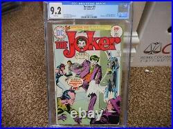 The Joker 1 cgc 9.2 DC 1975 Batman Catwoman Riddler Penguin Two-Face WHITE pgs