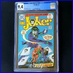 The Joker #2 (DC Comics 1975) CGC 9.4 WHITE Pages Batman Comic
